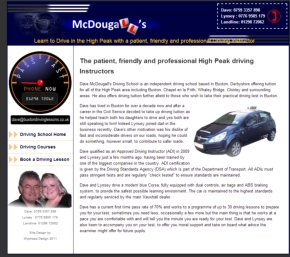 Driving lessons in Buxton from McDougalls